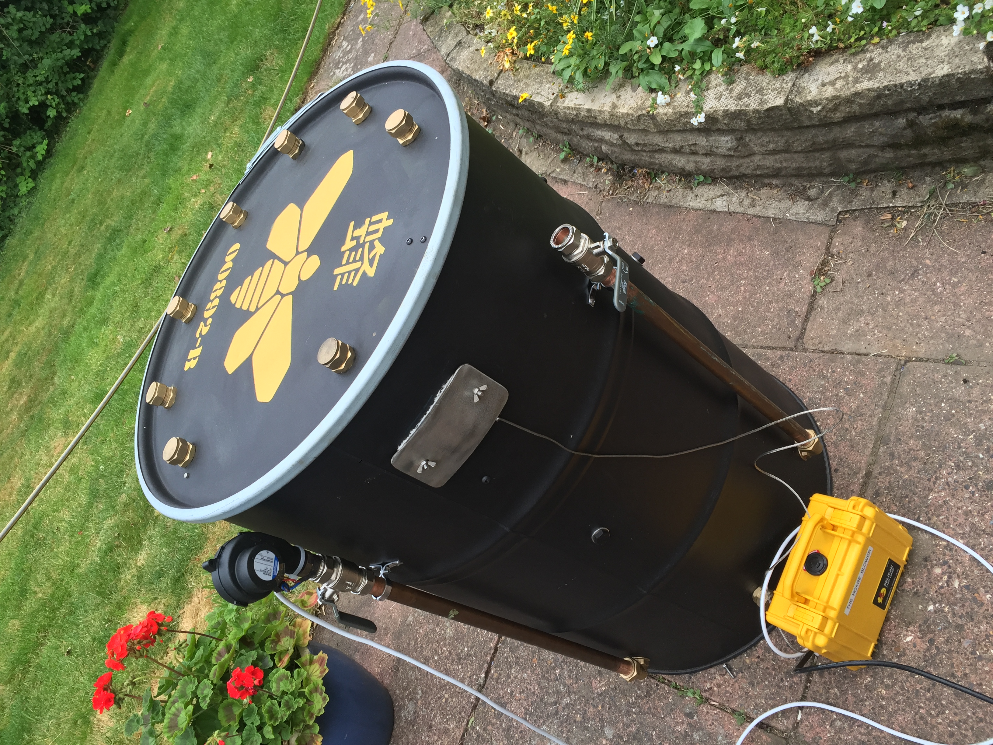 Build your own digital forced draft smoker controller - UK
