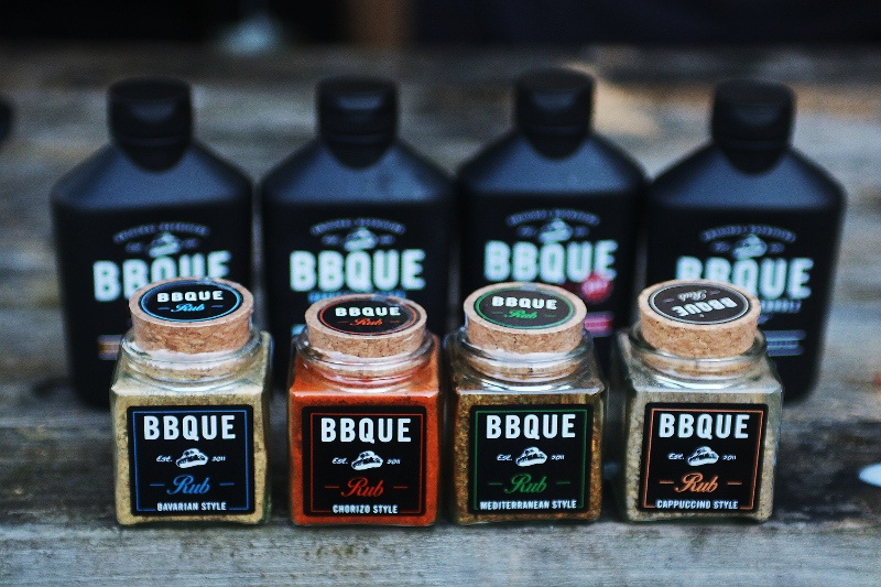 BBQue Sauce and rubs