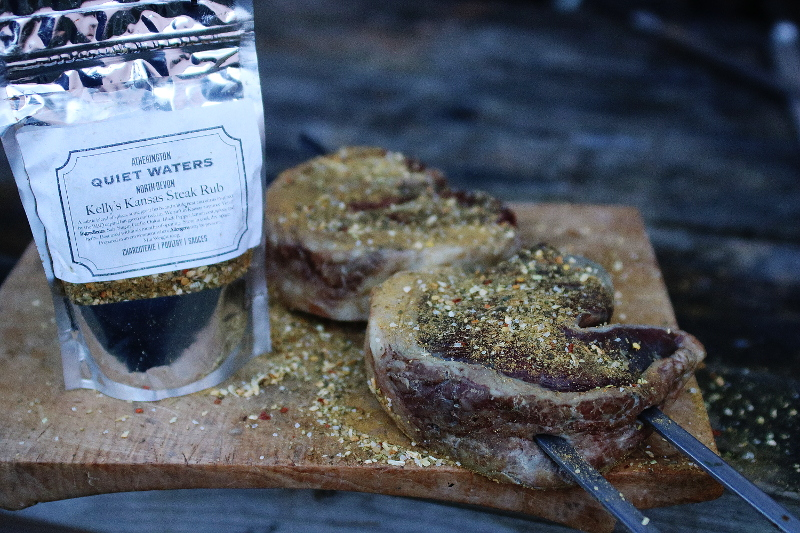 Quiet waters farm Kellys Kanasas Steak Rub